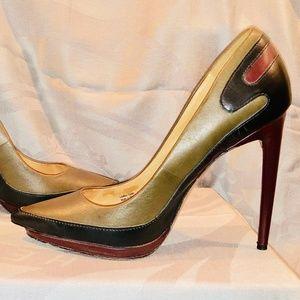 L.A.M.B. Multi Color High Heels Size 8
